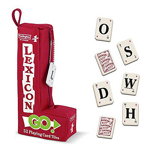 Waddington's Number 1 Lexicon GO! Word Game - 52 Playing Card Tiles