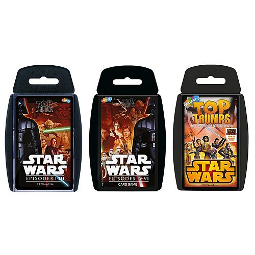 Top Trumps Card Game Bundle - Star Wars Earlier Years (Episodes I-III)