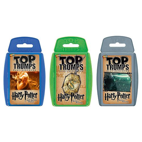 Top Trumps Card Game Bundle - Harry Potter II - Later stories (Half Blood Prince, Deathly Hallows part 1, Deathly Hallows Part 2)