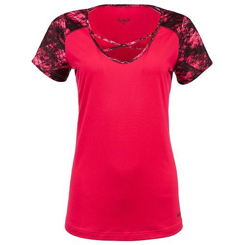 Women's Huntworth Lifestyle Lightweight Strappy Short Sleeve Shirt