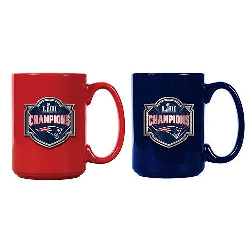 New EnglandPatriots Super Bowl LIII Coffee Mug Set