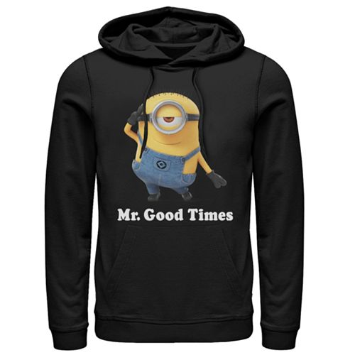 Men's Minions Mr. Good Times Hooded Pull Over
