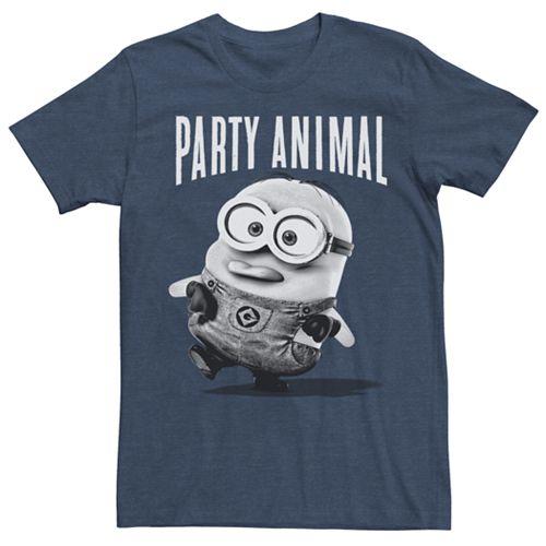 Men's Minions Party Animal Tee