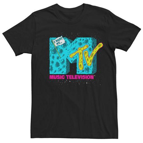 Men's MTV Moon Logo Tee