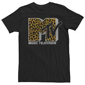 Men's MTV Cheetah Logo Tee