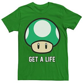 Men's Super Mario Bros. Get A Life Tee