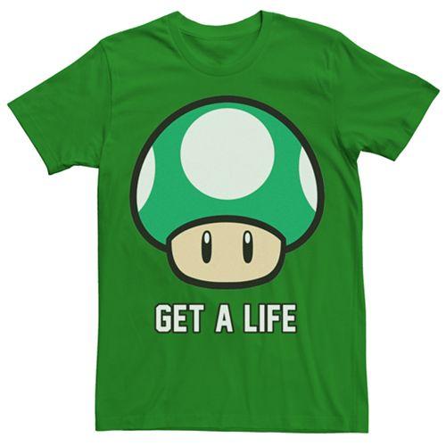 Men's Super Mario Bros. Get A Life Tee