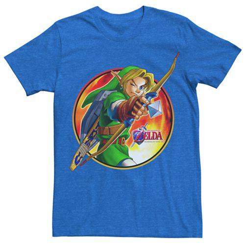 Men's Legend of Zelda Ocarina of Time Archer Tee