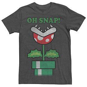 Men's Super Mario Bros Oh Snap Tee
