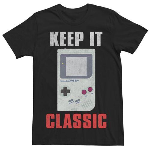 Men's Game Boy Keepin' It Classic Tee