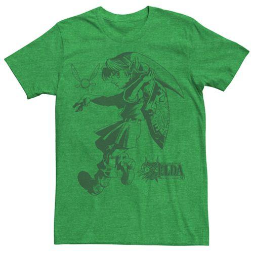 Men's Zelda Majora's Mask Link Liner Tee