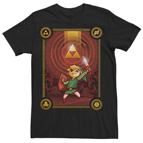 Men's Zelda Wind Waker Triforce Dawn Tee