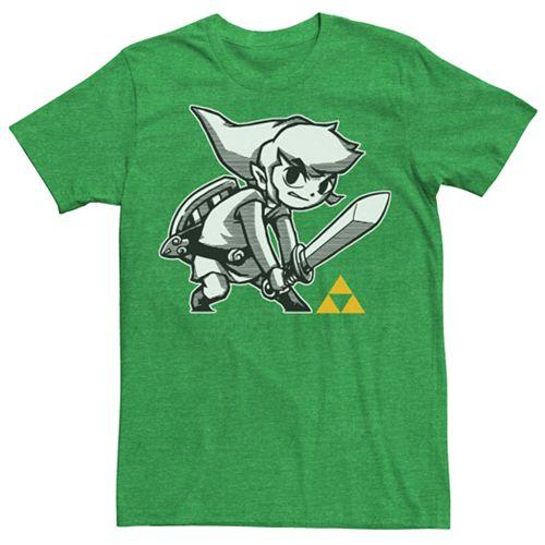 Men's Zelda Link's Brave Tee
