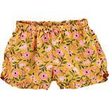 Toddler Girl Carter's Ruffled Print Shorts