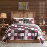 Woolrich Tulsa Oversized Plaid Print Cotton Quilt Set