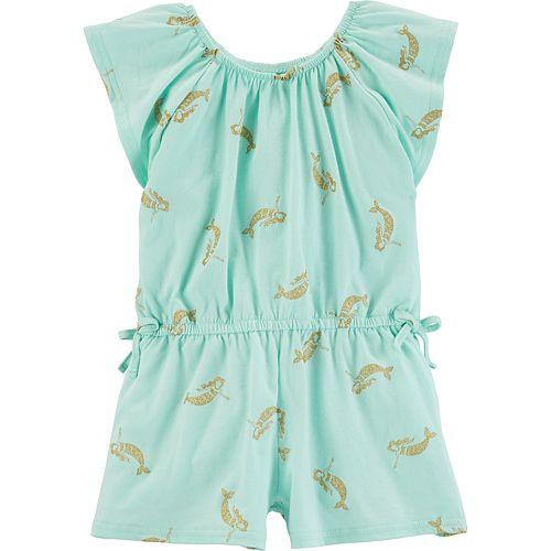 Toddler Girl OshKosh B'gosh® Printed Romper