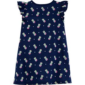Toddler Girl OshKosh B'gosh® Shirred-Yoke Printed Dress