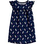 Toddler Girl OshKosh B'gosh® Shirred-Yoke Printed Dress