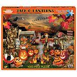 White Mountain Puzzles Jack O Lanterns - 1000 Piece Jigsaw Puzzle