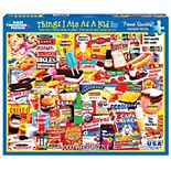 White Mountain Puzzles Things I Ate As A Kid - 1000 Piece Jigsaw Puzzle