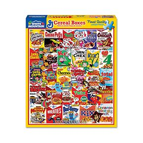 White Mountain Puzzles Cereal Boxes - 1000 Piece Jigsaw Puzzle