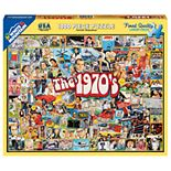 White Mountain Puzzles The Seventies (1970's) - 1000 Piece Jigsaw Puzzle