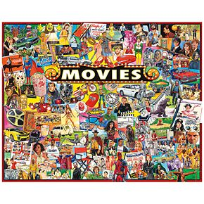 White Mountain Puzzles The Movies - 1000 Piece Jigsaw Puzzles