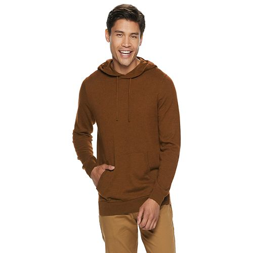 Men's SONOMA Goods for Life™ Supersoft Lightweight Hooded Sweater