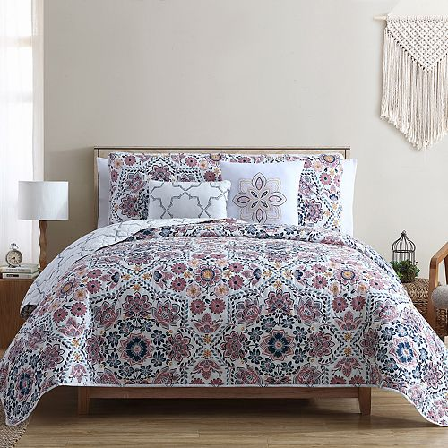 VCNY Anges 4-Piece Quilt Set