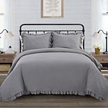 VCNY Farmhouse 3-Piece Quilt Set