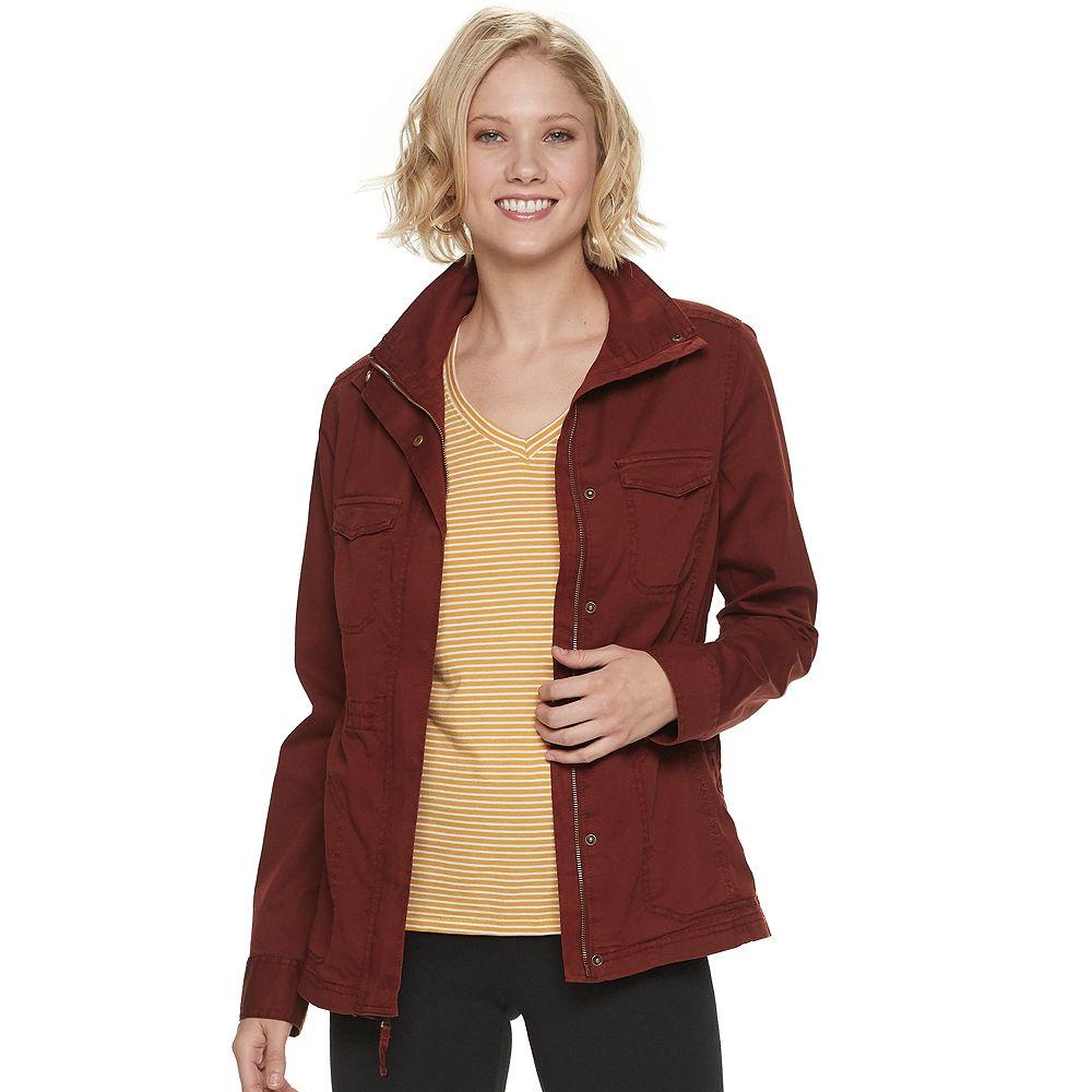 Women's SONOMA Goods for Life® Utility Twill Jacket
