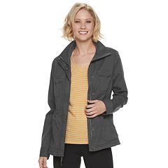 cb85d74b573 Womens Grey Lightweight Coats & Jackets - Outerwear, Clothing | Kohl's