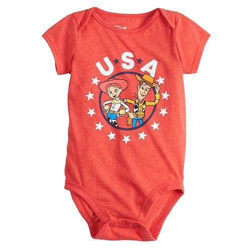 Disney / Pixar's Toy Story Baby Woody & Jessie Graphic Bodysuit by Family Fun
