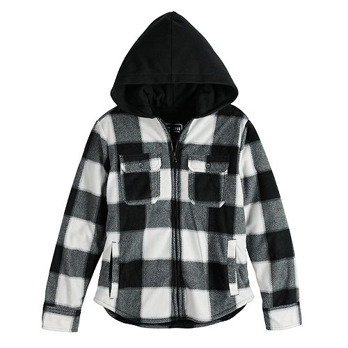Boys 8-20 Urban Pipeline™ Buffalo Check Polar Fleece Jacket