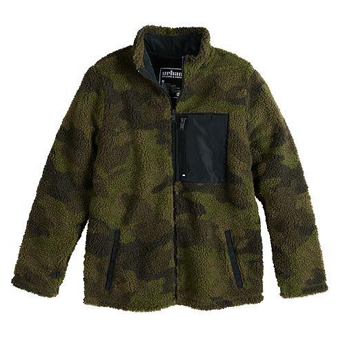Boys 8-20 Urban Pipeline™ Fleece Mockneck Zip Up Jacket
