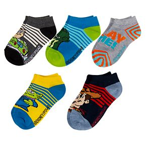 Boys 4-20 Toy Story 5-Pack No-Show Socks