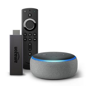 Amazon Fire TV Stick with All-New Alexa Voice Remote & Streaming Media Player