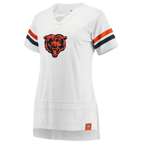Women's Chicago Bears White Out Draft Me Tee