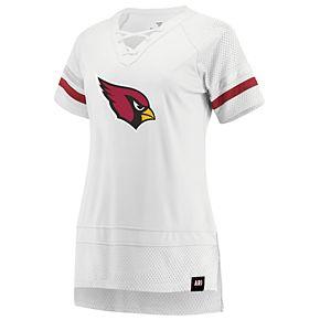 Women's Arizona Cardinals White Out Draft Me Tee