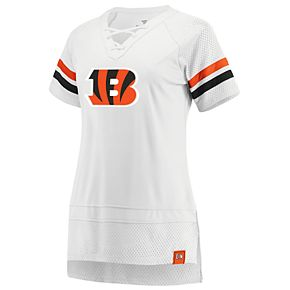 Women's Cincinnati Bengals White Out Draft Me Tee