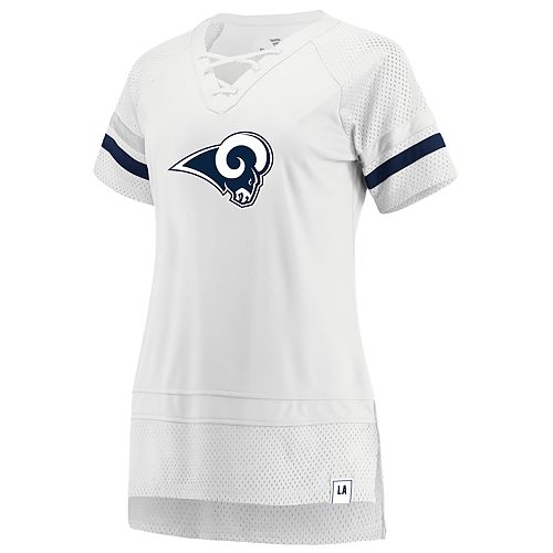 Women's Los Angeles Rams White Out Draft Me Tee