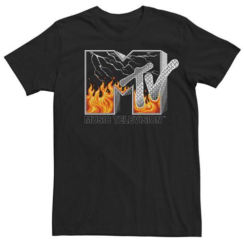 Men's MTV Chrome Logo Tee
