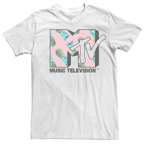 Men's MTV Pineapple Logo Tee