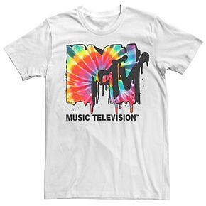 Men's MTV Tie Dye Logo Tee