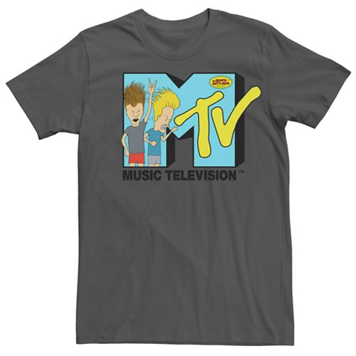 Men's MTV Beavis And Butt-Head Logo Tee