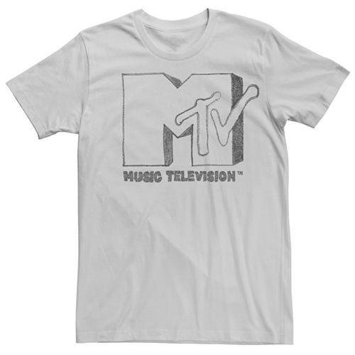 Men's MTV Sketched Logo Tee
