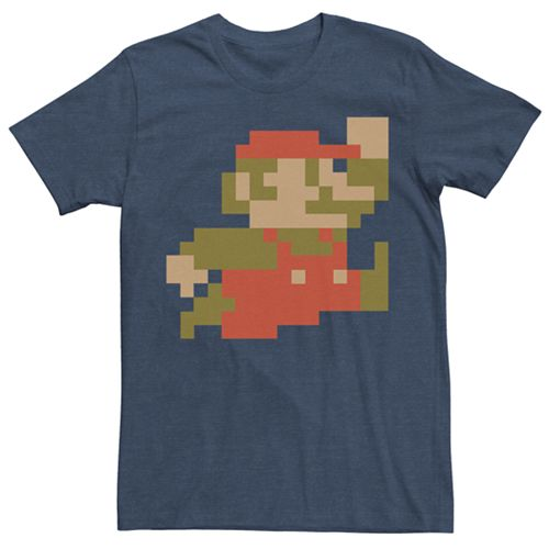 Men's Super Mario Bros Vintage Tee