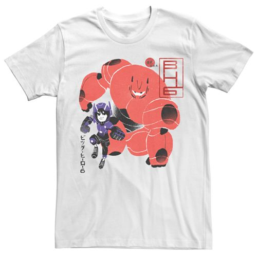 Men's Big Hero 6 Kanji Tee