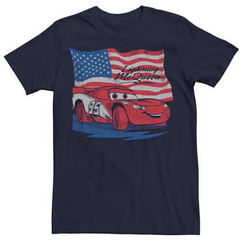 Men's Disney/Pixar Cars Lightning McQueen Tee
