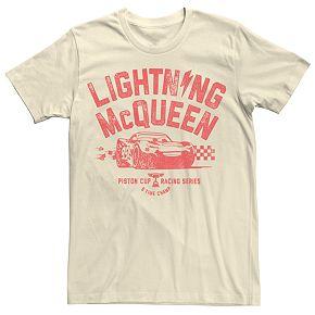 Men's Disney/Pixar Cars Lightning McQueen Character Tee